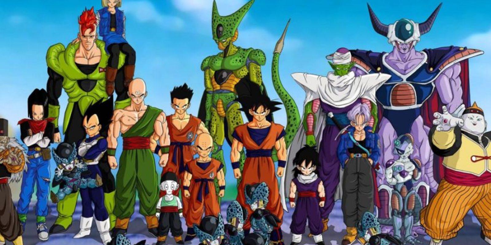 """""""Dragon Ball Z"""" es la serie que más éxito ha tenido en Latinoamérica. Foto:vía Toei"""