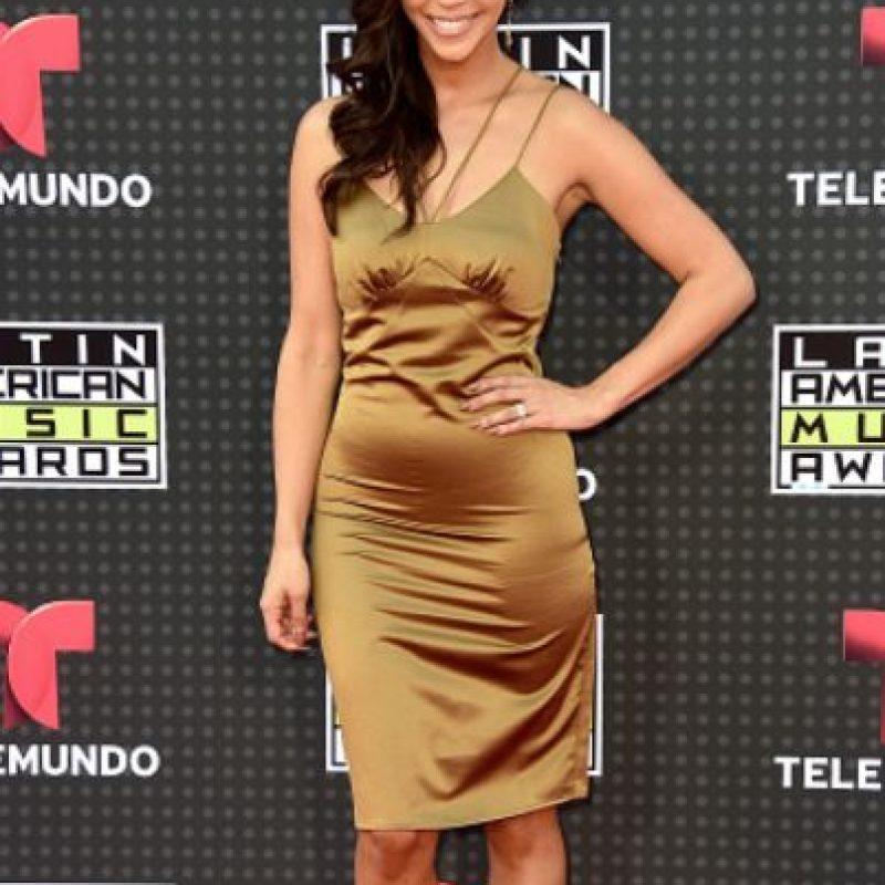 Scheana Shay con un mal entallado y un mal color. Foto:vía Getty Images
