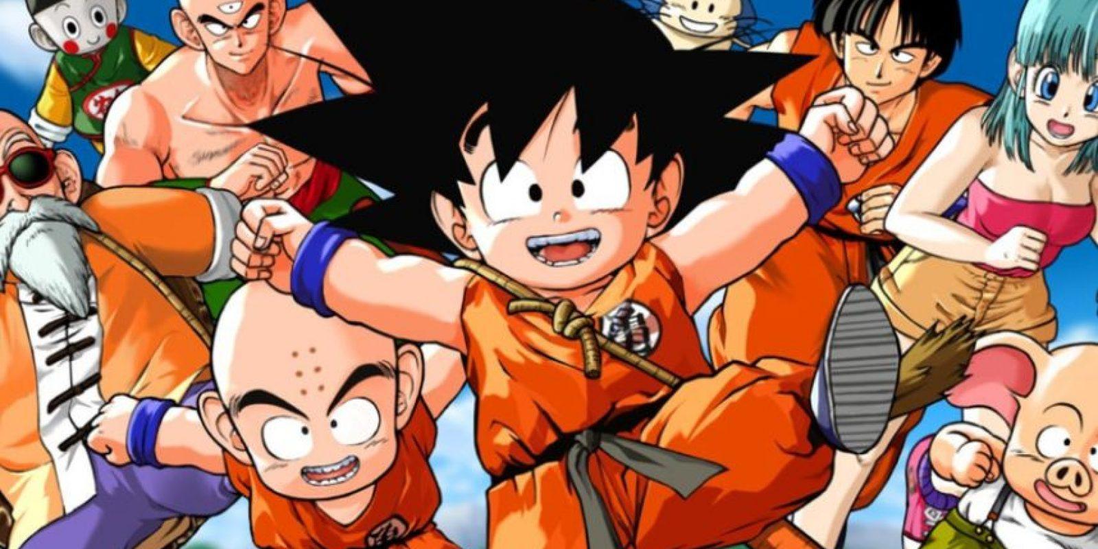 """""""Pero, sin embargo, salieron a la luz las picardías que gozaba la serie con Goku como niño. Entre ellas, el que Bulma tuviera desnudos- muy breves y parciales, casi siempre tapada por espuma u otra cosa. O el qué Goku saliera desnudo"""" Foto:vía Toei"""