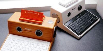 El keyboard se llama iStation y costaba 86 dólares. Lamentablemente la página creadora ya no está disponible Foto:MICGadget