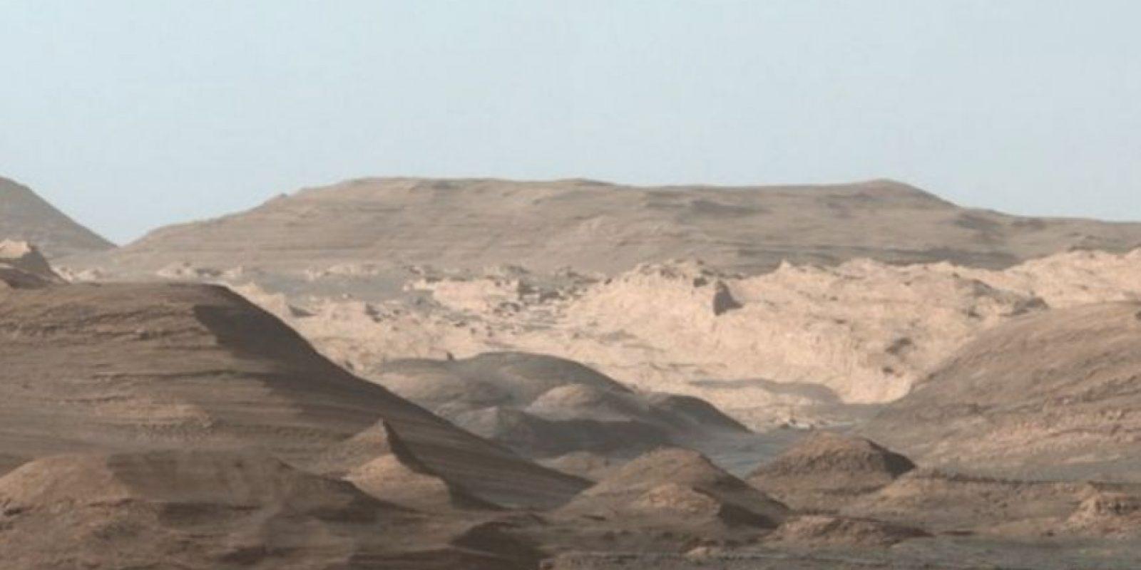 Curiosity aterrizó en Marte en 2012. Foto:nasa.gov