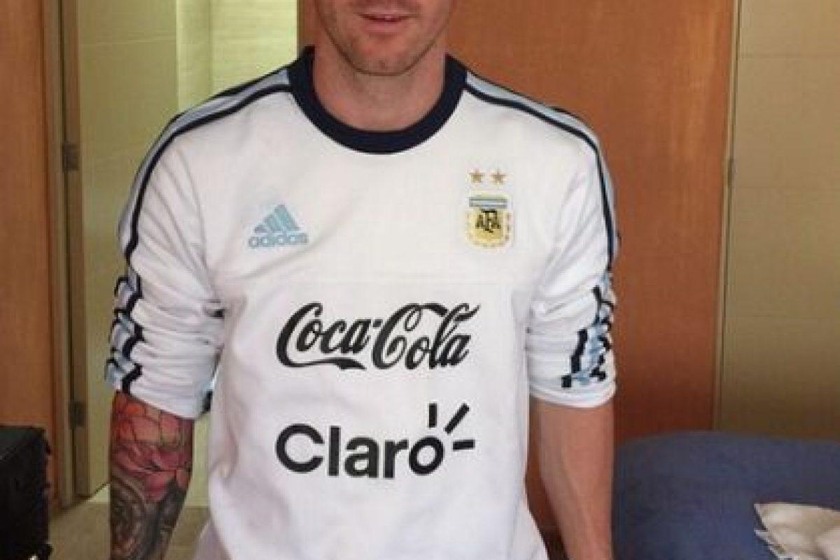 """Esto por no declarar beneficios personales o para su fundación por los partidos benéficos """"Messi and Friends"""", celebrados en Colombia entre 2012 y 2013. Foto:Vía instagram.com/leomessi"""