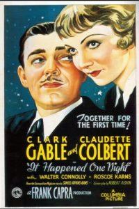 Una cadena de hechos desafortunados y alocados hace que una aristócrata fugitiva y un irascible periodista se enamoren perdidamente Foto:Columbia Pictures
