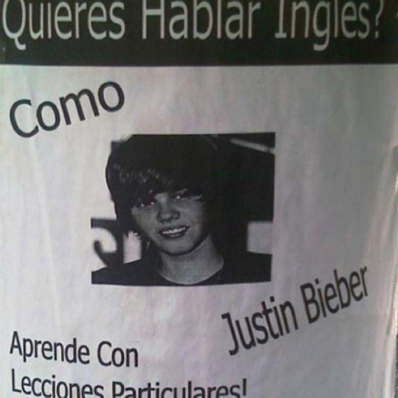 Porque Justin Bieber, que apenas sabe escribir en Twitter, puede superar a Shakespeare. Foto:vía SoloenMexico/Instagram