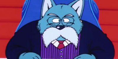 Incluso el Rey de la Tierra es un perro azul. Foto:vía Toei