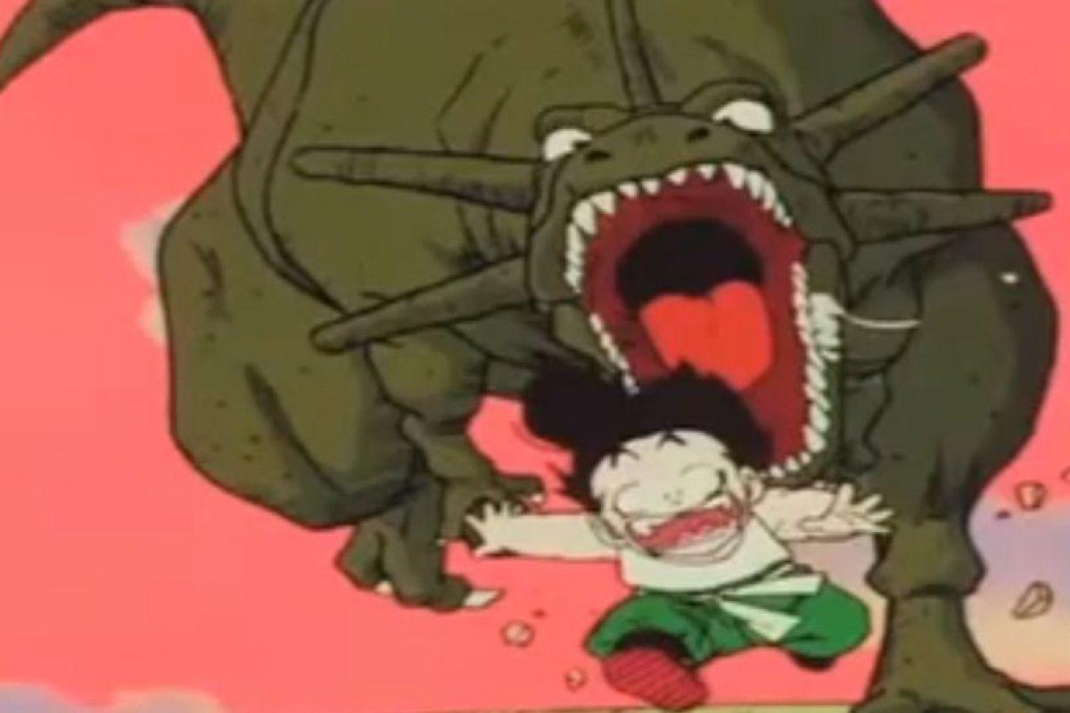 Pero hay unos sin conciencia, totalmente salvajes. Incluso dinosaurios. Foto:vía Toei