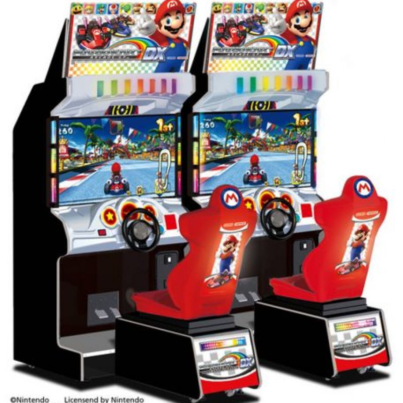 """""""Mario Kart Arcade GP"""" para Arcade (2005) Foto:Nintendo"""