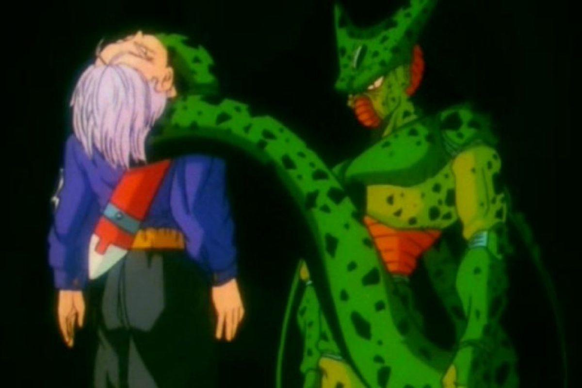 Se sabe que en la primera línea temporal Trunks es asesinado por Cell. Foto:vía Toei