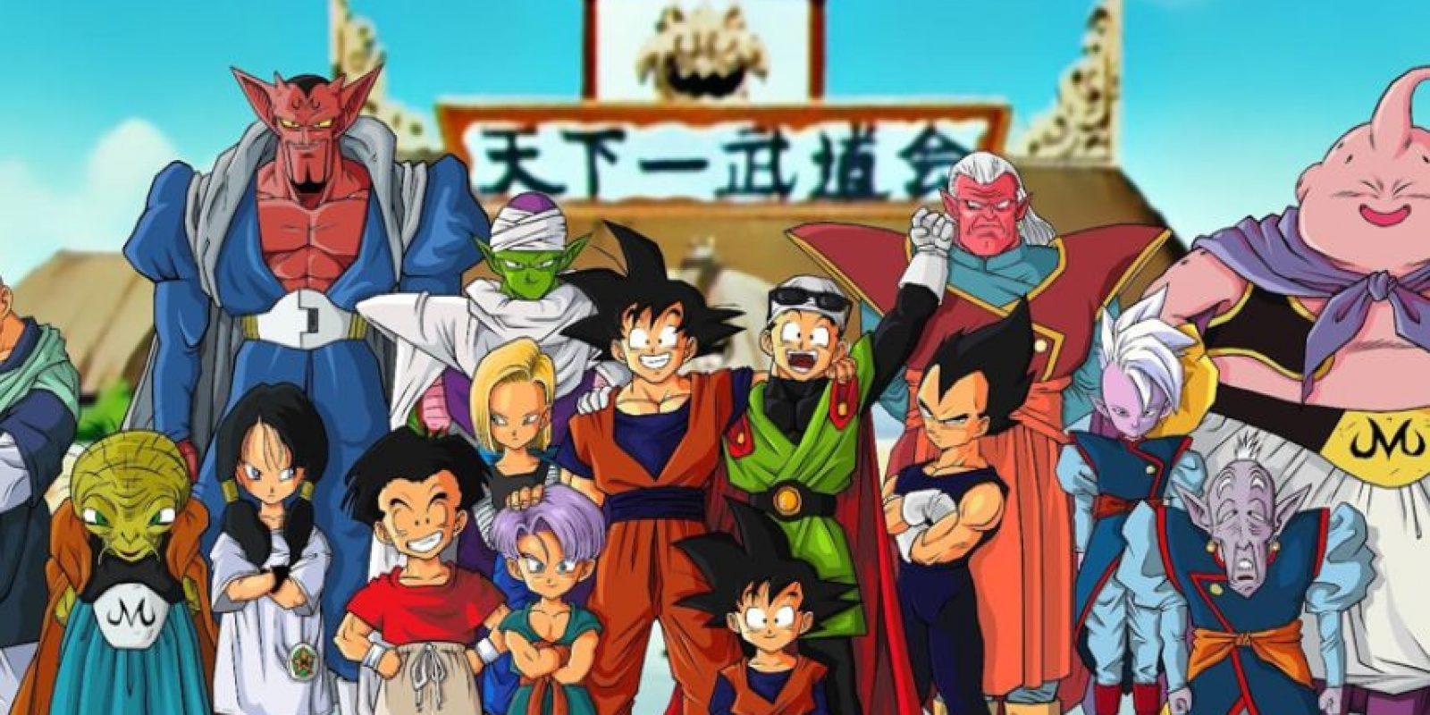 Los personajes también tienen nombres de ropa interior o alimentos. Foto:vía Toei