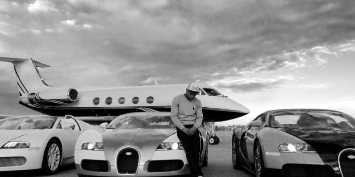 Floyd Mayweather pierde 2 mdd: Se incendian cuatro de sus autos de lujo