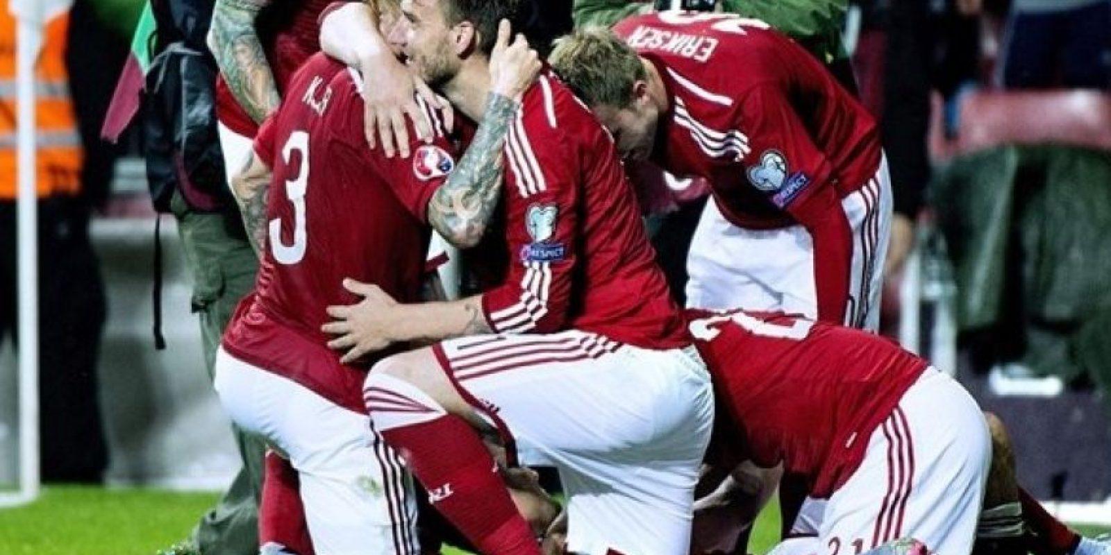 4. Dinamarca (12 puntos) Foto:AFP