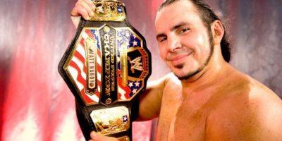 Pero renunció al título por problemas legales con Ethan Carter III, que lo obligaban a no presentarse en la arenas de TNA hasta solucionar sus diferencias Foto:WWE