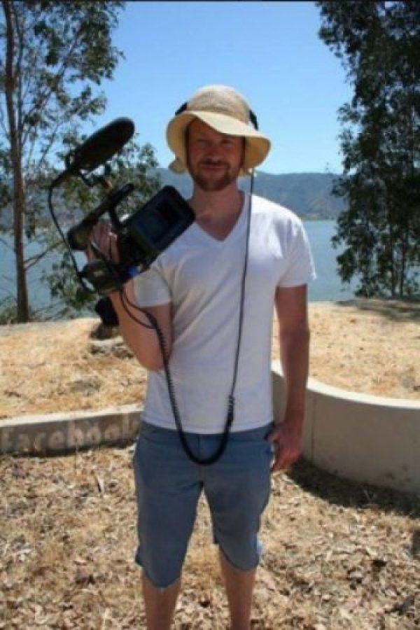 Además de trabajar como camarógrafo de Hollywood, es un experto en audio. Foto:vía facebook.com/MarkBurton