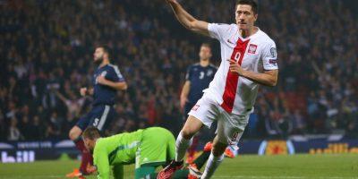 Anotó un doblete en el partido de Polonia ante Escocia Foto:Getty Images