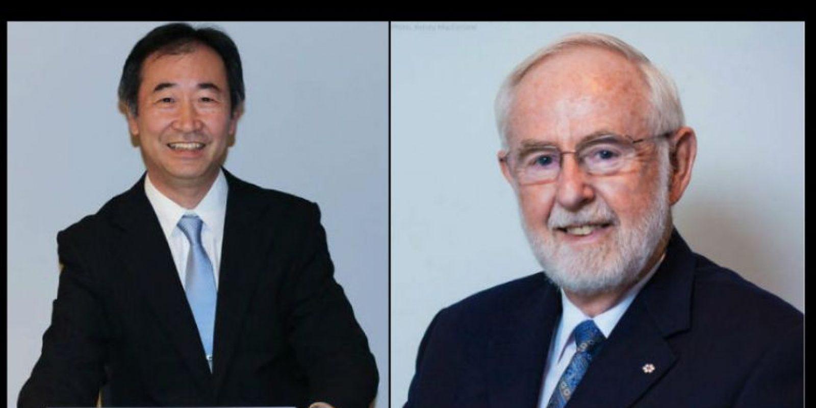 El premio Nobel de Física fue otorgado a Takaaki Kajita de la Universidad de Tokyo y Arthur B. Mc. Donald, de la Queen's University por el descubrimiento de la oscilación de los neutrinos Foto:Vía Twitter @NobelPrize