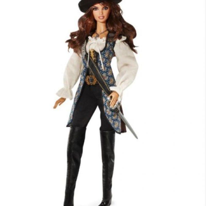 """Penélope Cruz en """"Piratas del Caribe"""" Foto:vía Mattel"""