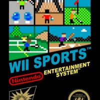 """Wii Sports"" (Deportes) Foto:The Minus World"