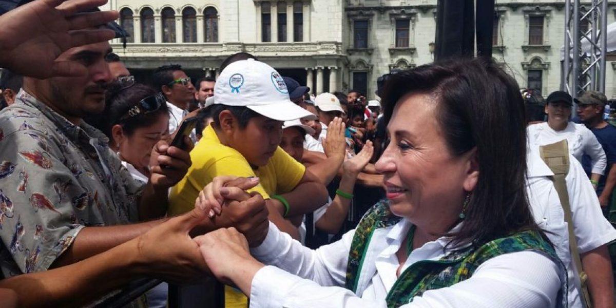Sandra Torres le pide a su contrincante presidencial dejar los ataques personales