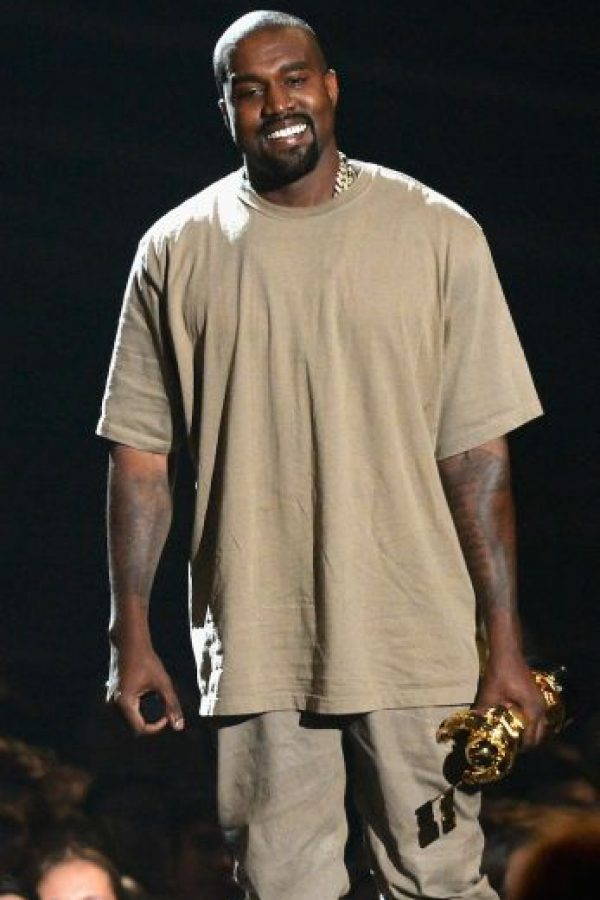 """Si gano, todos tendrán Yeezys"", afirmó el esposo de Kim Kardashian. Foto:Getty Images"