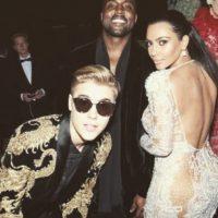 Bieber también es buen amigo de Kanye West Foto:vía instagram.com/justinbieber