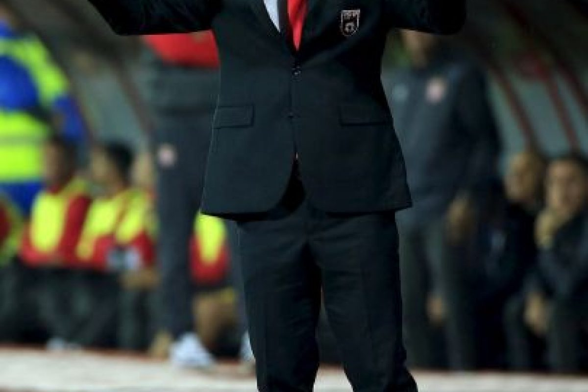 El italiano Gianni De Biasi es el timonel de la escuadra de Albania Foto:Getty Images