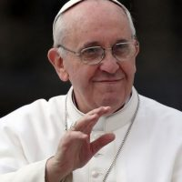 1.Papa Francisco no realizó un truco de magia Foto: Getty Images