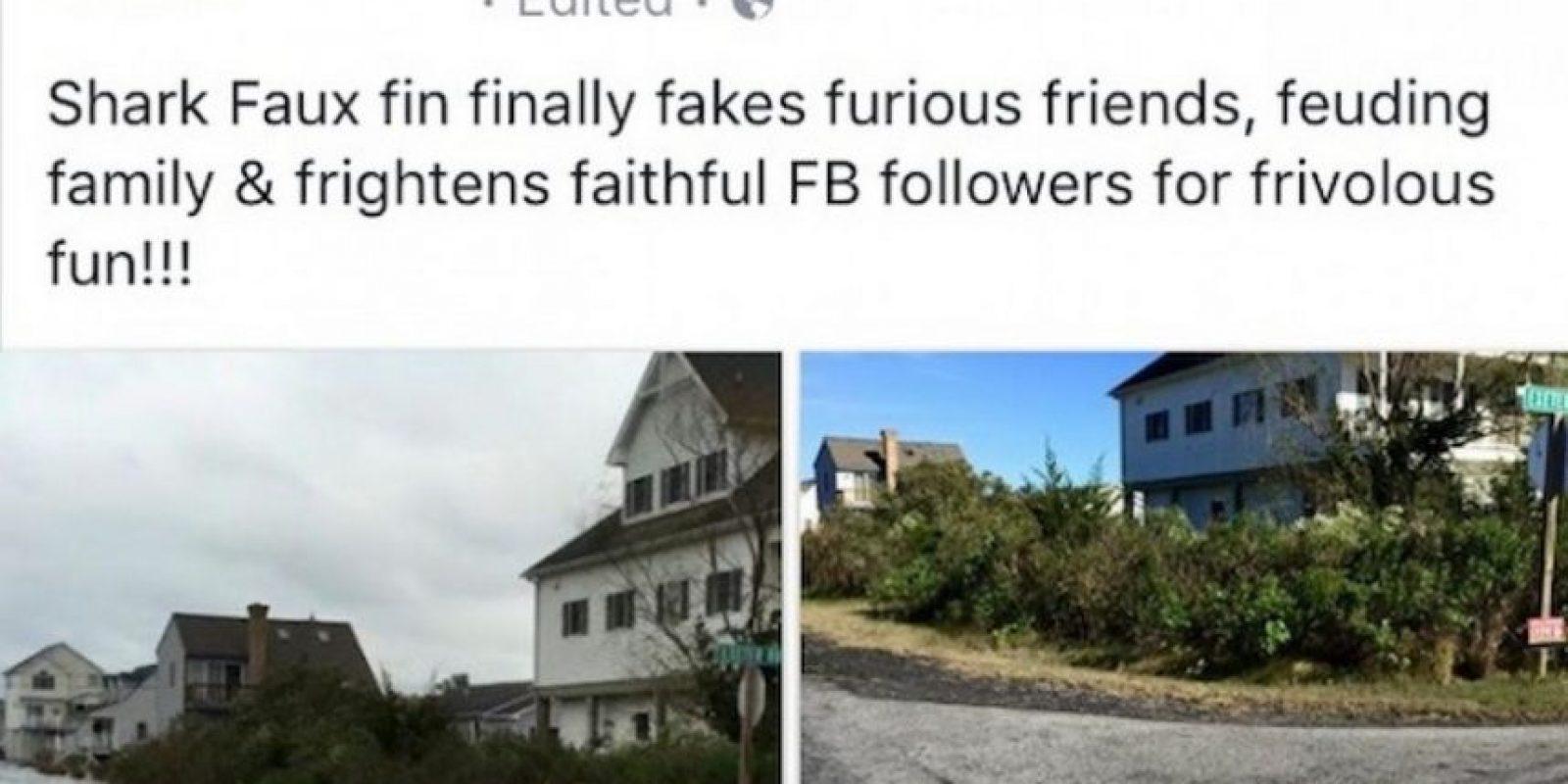 Sin embargo, sólo se trató de una broma desencadenada por el usuario de Facebook Charlotte Sampson. Foto:Vïa Facebook