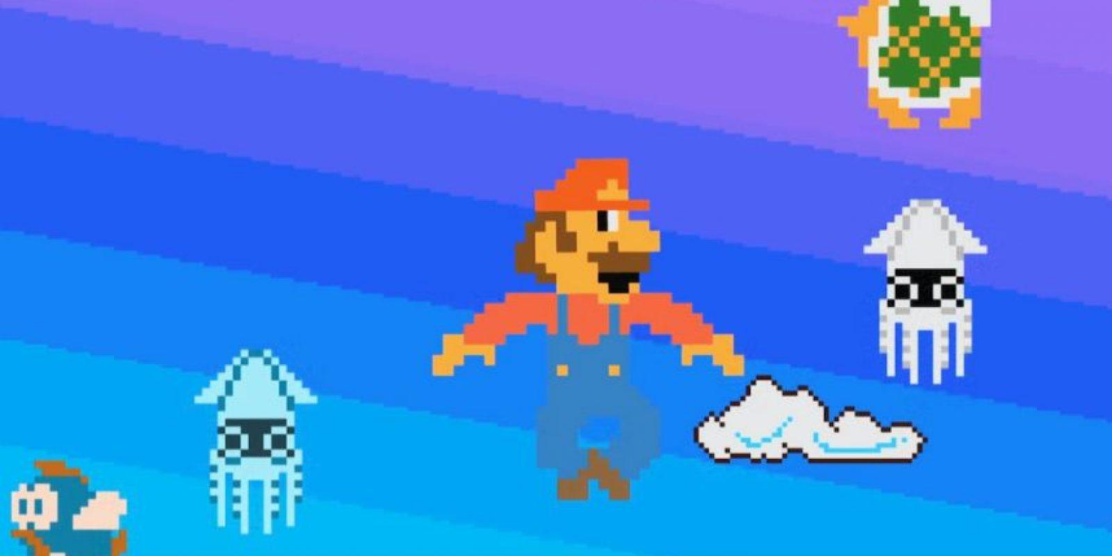 Mira a los personajes del juego volar Foto:YouTube/Pete Holmes