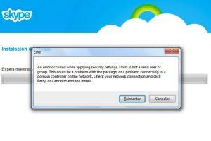 El pasado 21 de septiembre Skype presentó una falla que no permite actualizar estados ni realizar llamadas a algunos usuarios Foto:Skype