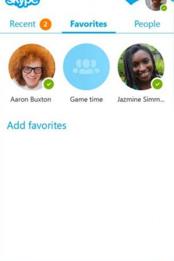Así se ve el nuevo rostro de la aplicación Skype en Android Foto:Skype