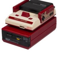 Famicom Disk System, un sistema que funcionaba con disquetes de 75 Kb por cada cara. Foto:Nintendo