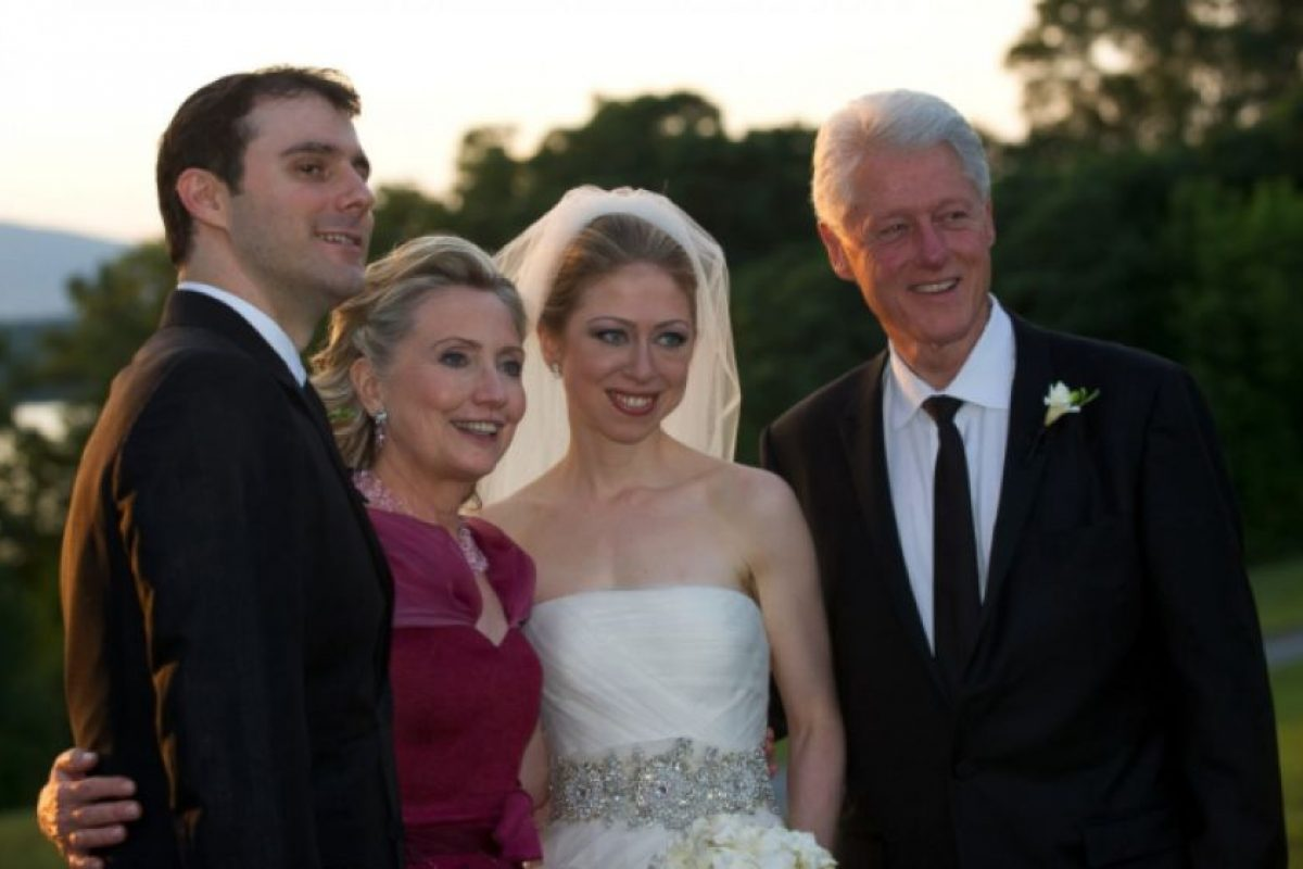 La boda de Chelsea Clinton, el 31 de julio de 2010. Foto: Getty Images