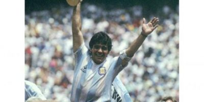 Video del recuerdo. Así calentaba Maradona antes de cada partido