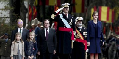 A esta ceremonia no acudieron personalidades como Artur Mas, presidente autonómico de Cataluña y principal promotor de la independencia de la región Foto:AFP