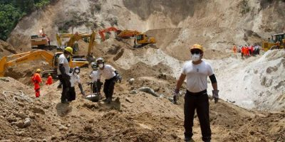 La búsqueda de fallecidos en El Cambray llega al final