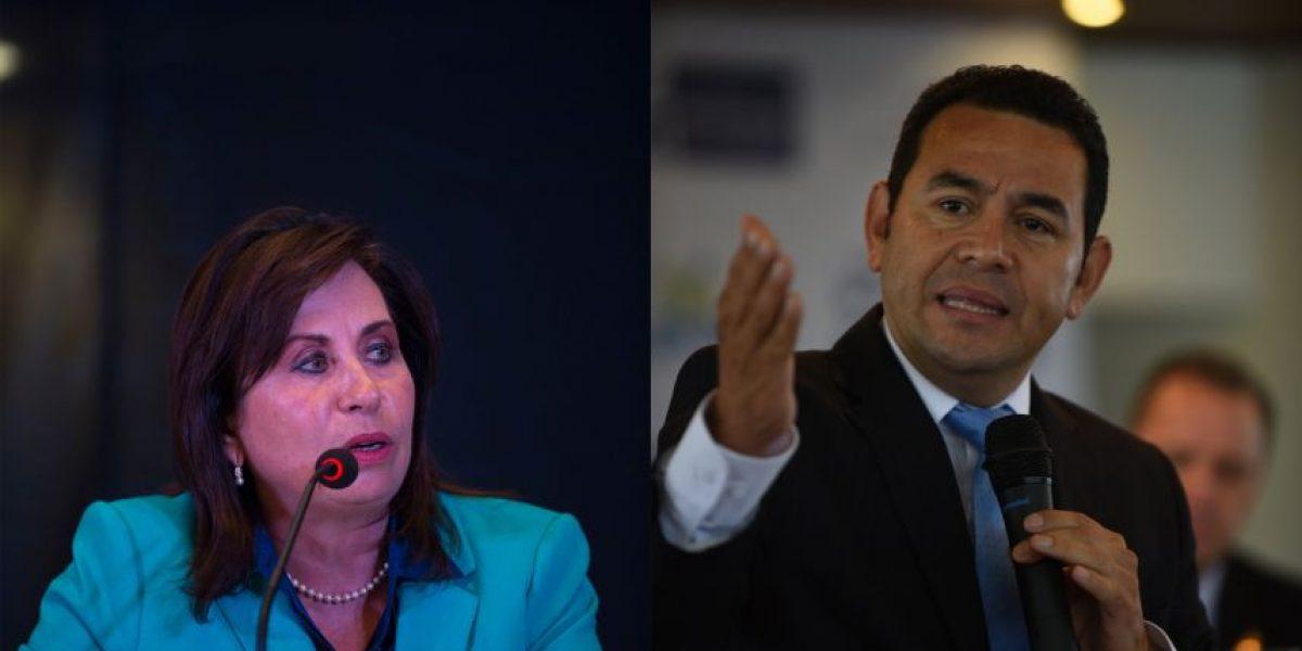 ¿Aborto? ¿Matrimonio igualitario? Esto opinan Jimmy Morales y Sandra Torres