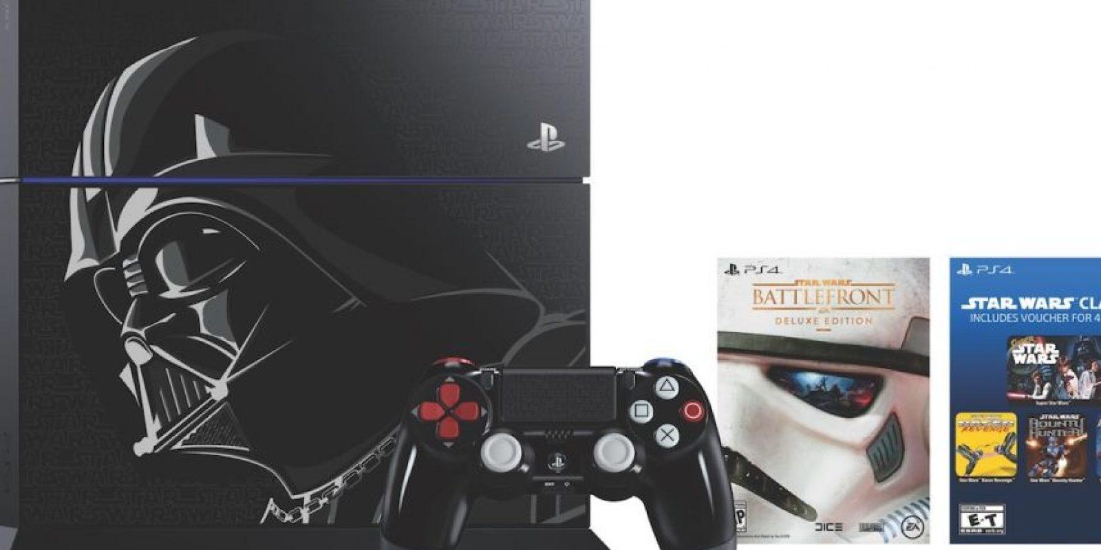 Y el paquete normal de este mismo juego de 500GB quedó en 349 dólares. Ambos a a partir del 17 de noviembre de 2015. Foto:Sony