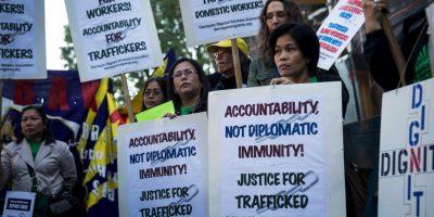 Casi 21 millones de personas son víctimas del trabajo forzoso: 11,4 millones de mujeres y niñas, y 9,5 millones de hombres y niños. Foto:Getty Images