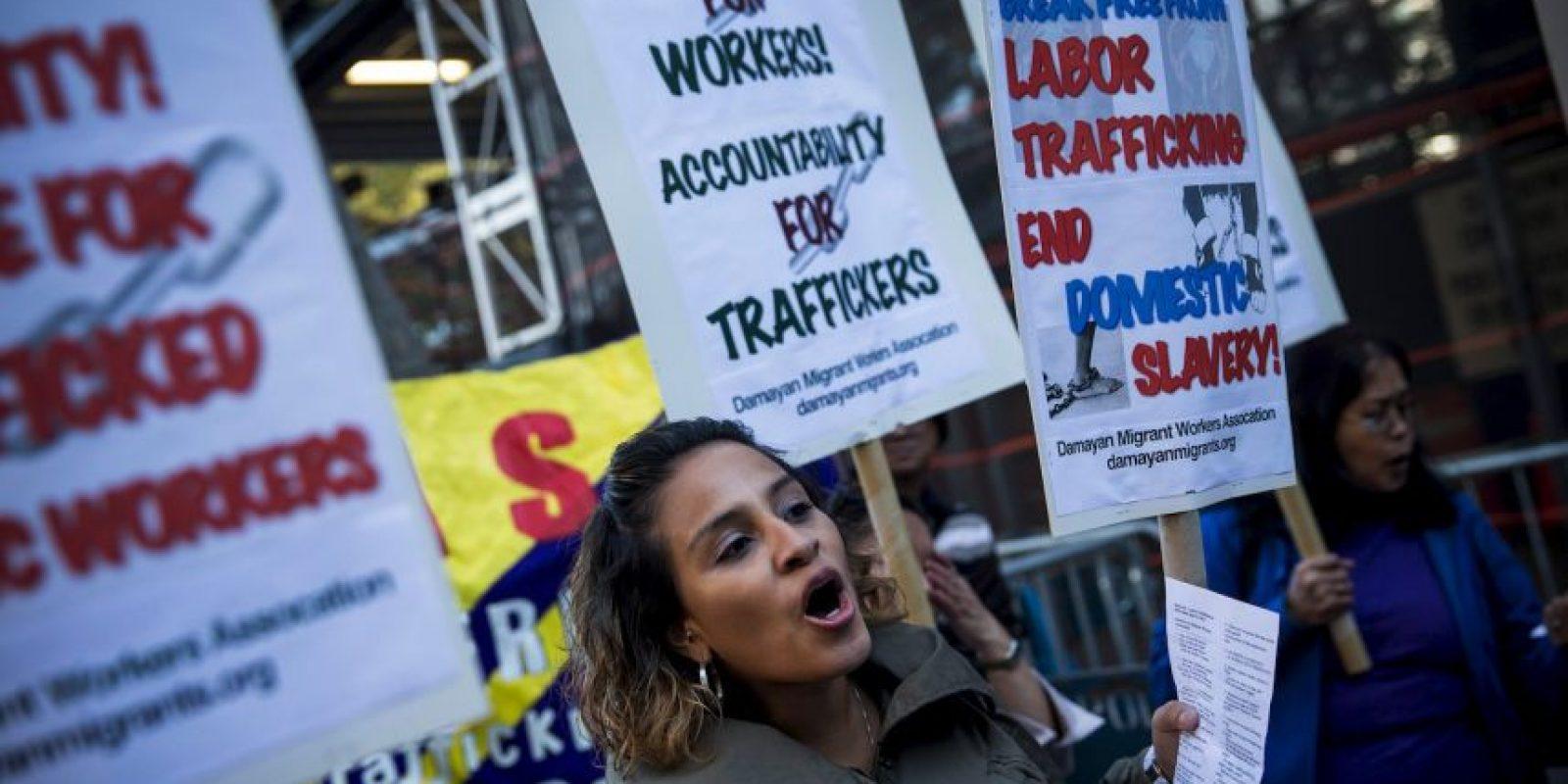 El trabajo forzoso en la economía privada genera ganancias anuales ilegales de 150 mil millones de dólares por año. Foto:Getty Images