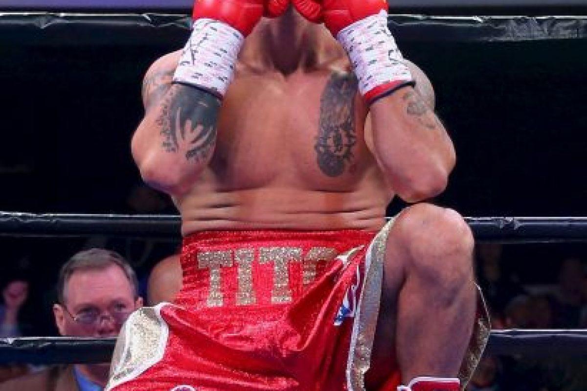 Con 34 años, Bracero es un boxeador estadounidense de Peso Welter. Foto:Getty Images