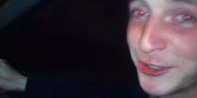 Michael Owen, de 21 años, murió al manejar con exceso de velocidad. Los hechos quedaron registrados en video Foto:Polícia de Sussex
