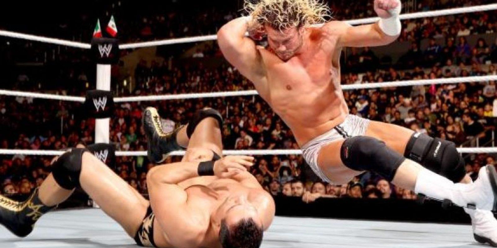 Fue cuatro veces campeón mundial de la WWE Foto:WWE