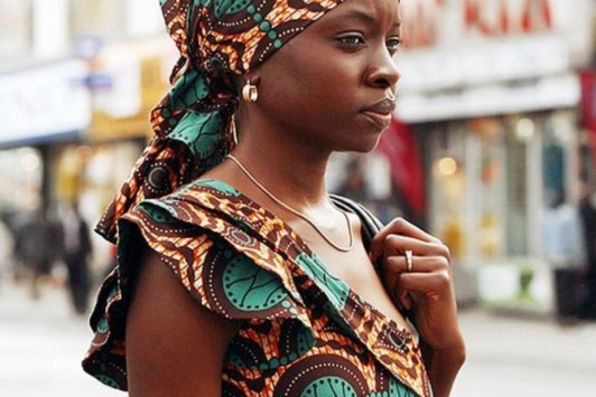 "Danai Gurira fue ""Ike"" en ""Mother of George"" en 2013 Foto: Vía imdb.com"