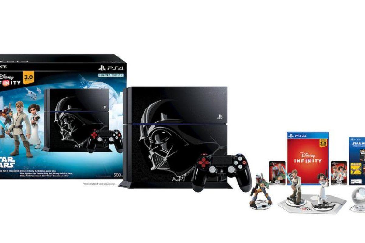 Paquete Limited Edition Disney Infinity 3.0: Star Wars PS4 de 500GB en 399 dólares. Foto:Sony