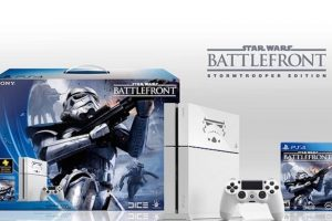 Limited Edition Star Wars Battlefront PS4 de 500GB en 399 dólares. Foto:Sony
