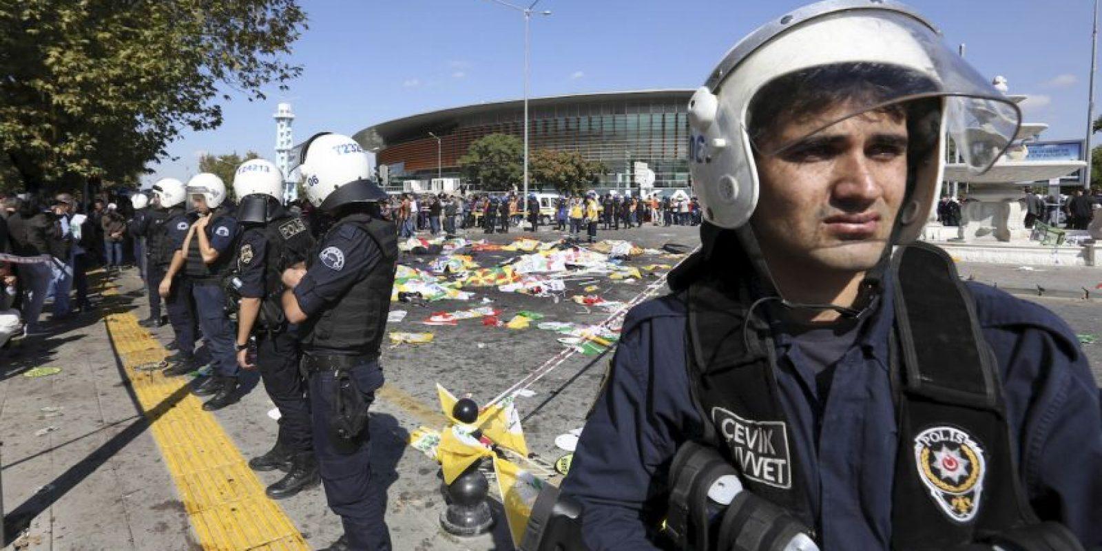 Ocurrió este 10 de octubre Foto:AP