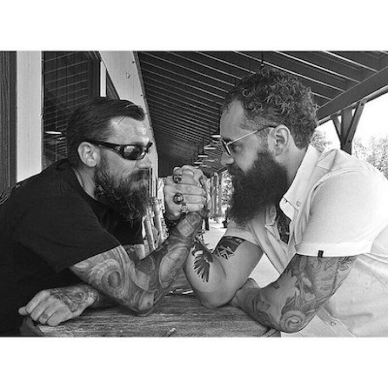 Surgió en Los Ángeles, California, en 2014 Foto:Instagram.com/BeardedVillains