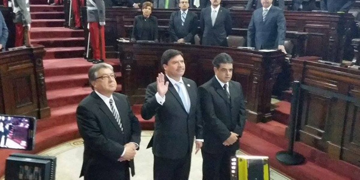 Congreso juramenta al nuevo presidente de la CSJ