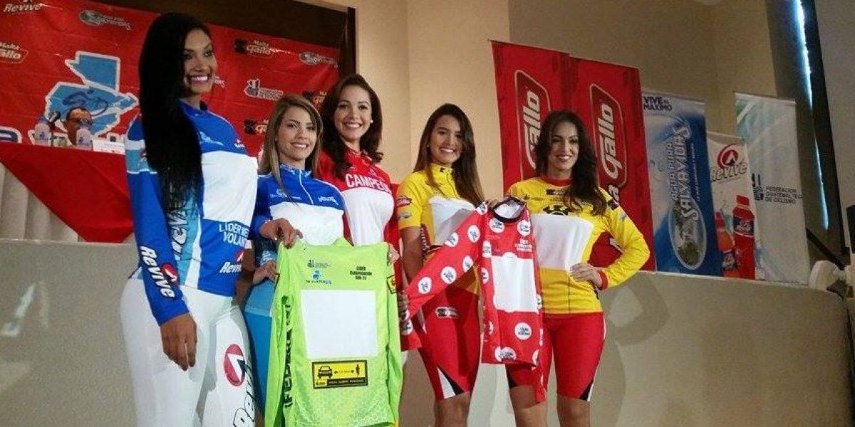 Presentan la Vuelta Ciclística a Guatemala