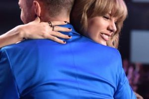 Taylor con Justin Timberlake Foto:Getty Images
